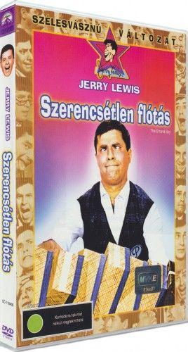 JerryLewis - Szerencsétlen flótás-DVD