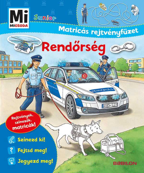 Stefan Richter - Rendőrség - Mi MICSODA Junior Matricás rejtvényfüzet