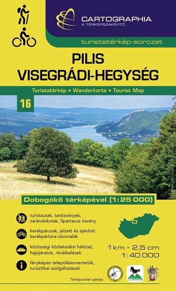 Cartographia - Pilis és Visegrádi-hegység turistatérkép