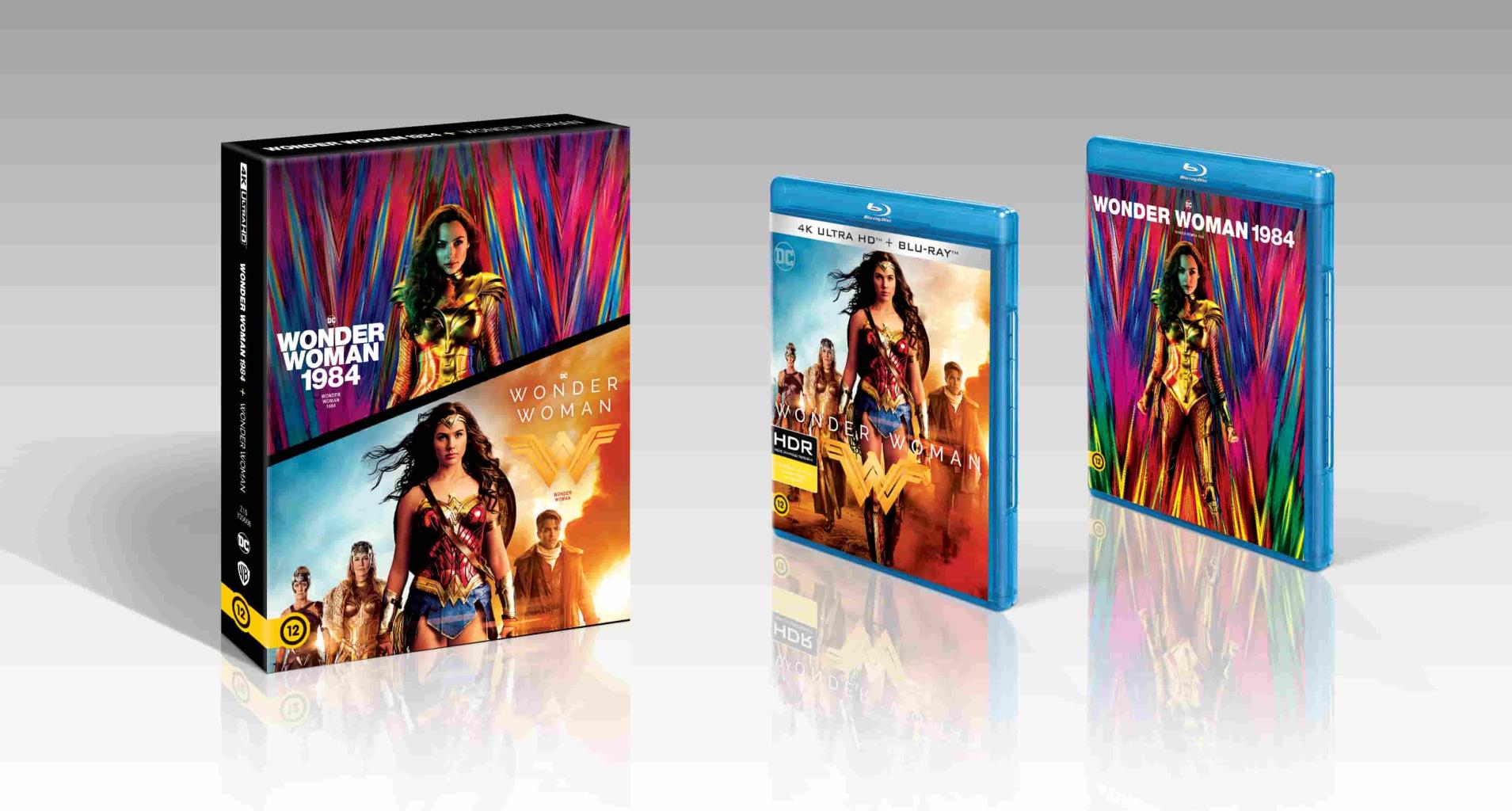 Patty Jenkins - Wonder Woman 1-2. (UHD+BD)
