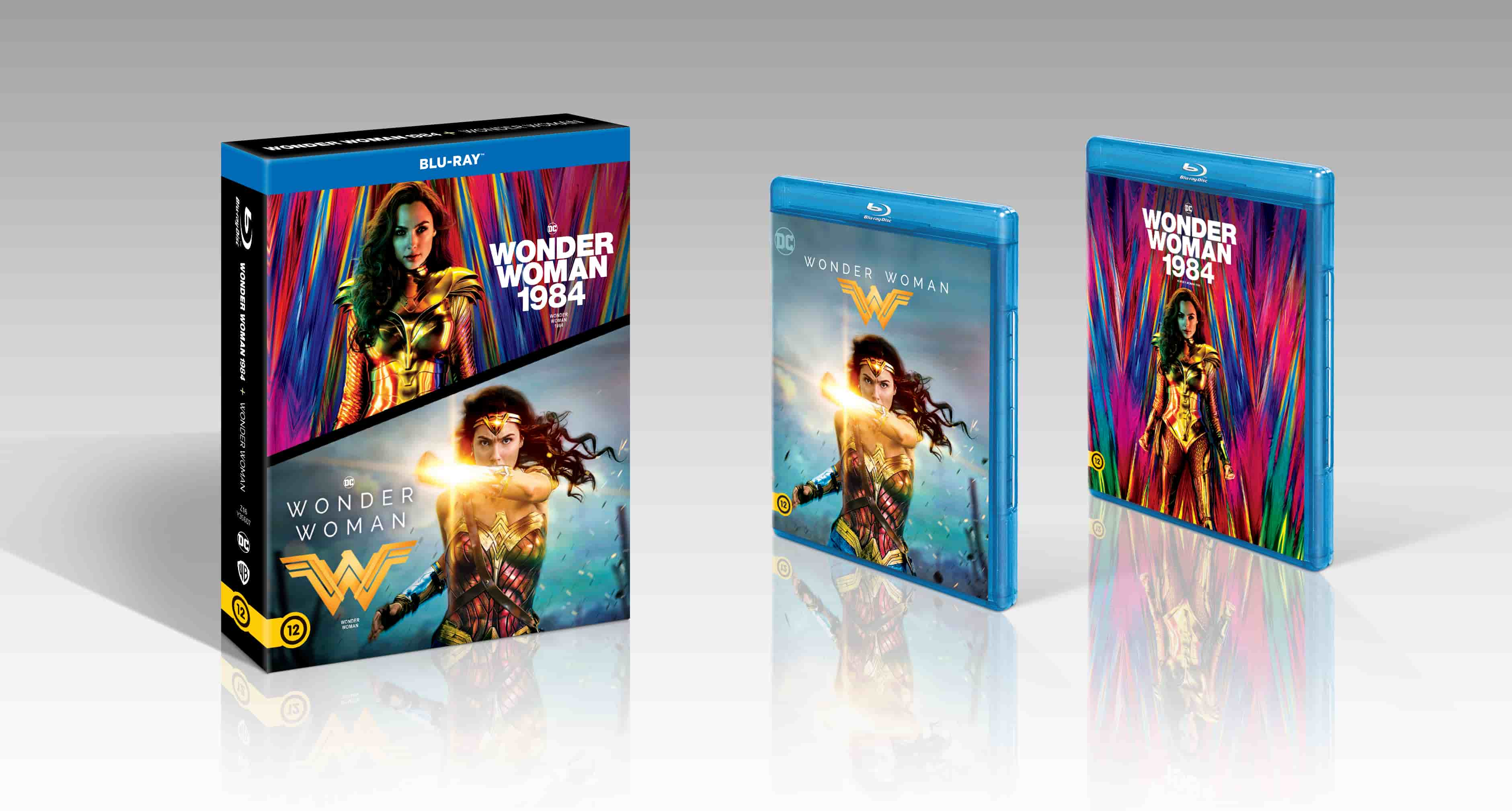 Patty Jenkins - Wonder Woman 1-2. - Blu-ray
