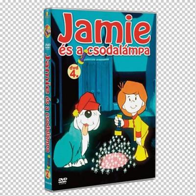 Jamie és a csodalámpa 4. - DVD