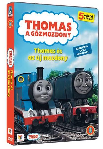 Thomas 08. - Thomas és az új mozdony - DVD
