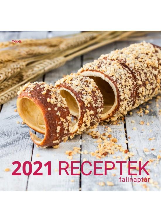 Receptek falinaptár - 2021