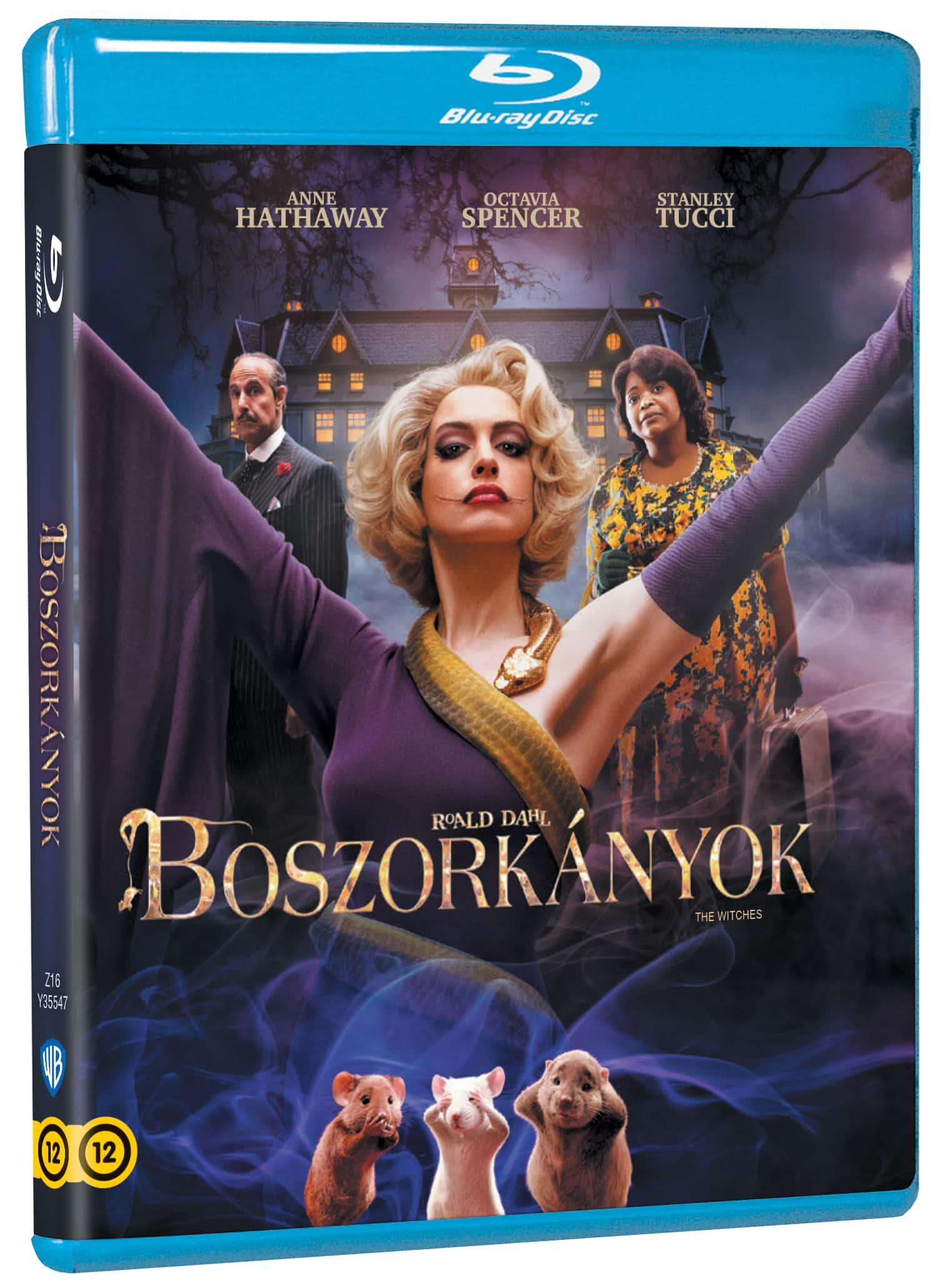 Roald Dahl: Boszorkányok - Blu-ray