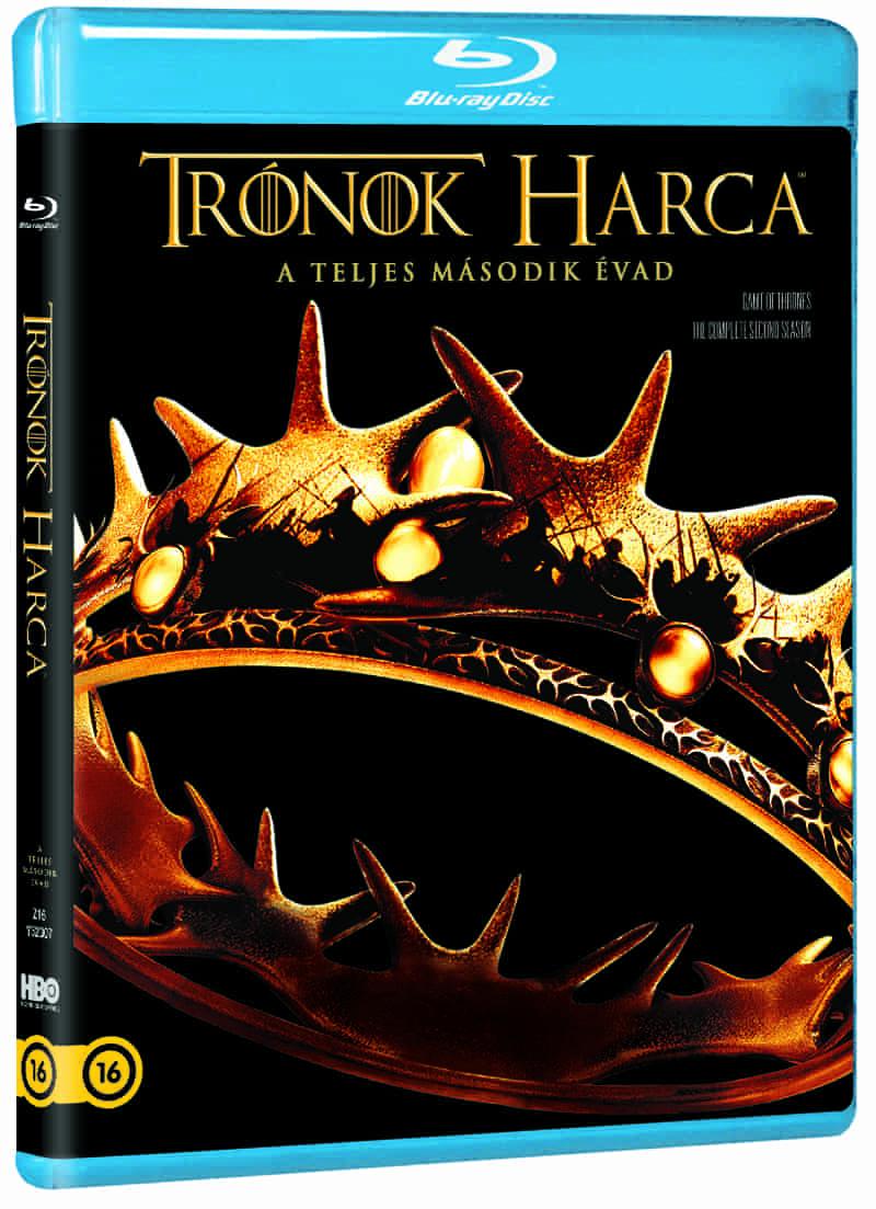 Trónok harca: 2. évad (5 BD) - Blu-ray