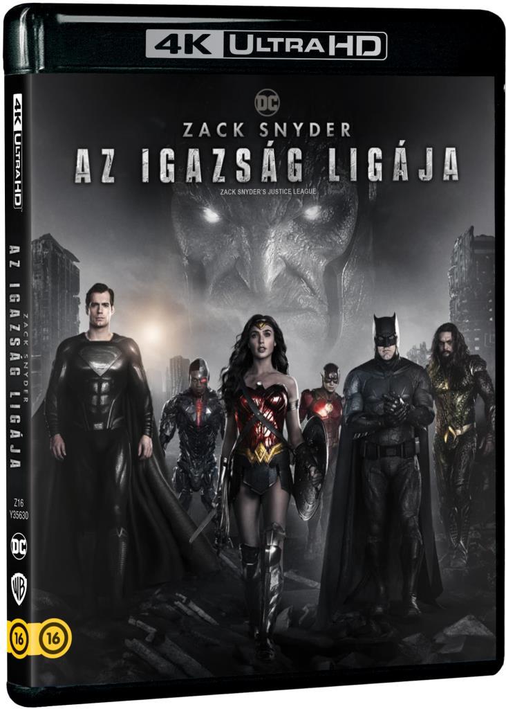 Zack Snyder - Zack Snyder: Az Igazság Ligája (2021) (2 UHD)