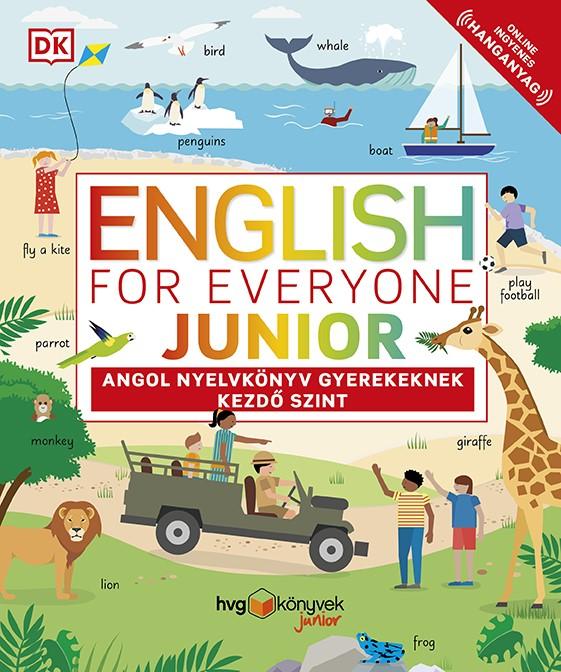 Thomas Booth - English for Everyone Junior: Angol nyelvkönyv gyerekeknek