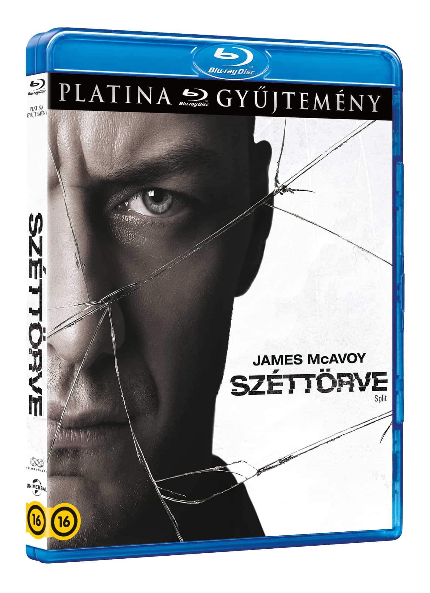 M. Night Shyamalan - Széttörve (platina gyűjtemény) - Blu-ray