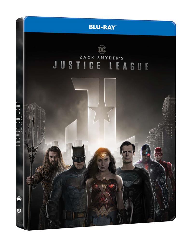 Zack Snyder: Az Igazság Ligája (2021) (2 BD) - limitált, fémdobozos változat (steelbook) - Blu-ray
