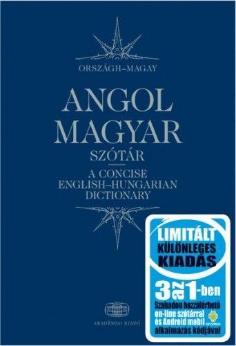 Magay Tamás - Magyar-angol szótár 3 az 1-ben