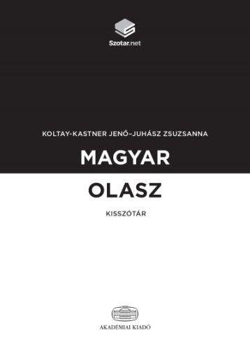 Juhász Zsuzsanna - Magyar-olasz kisszótár + online szótárcsomag