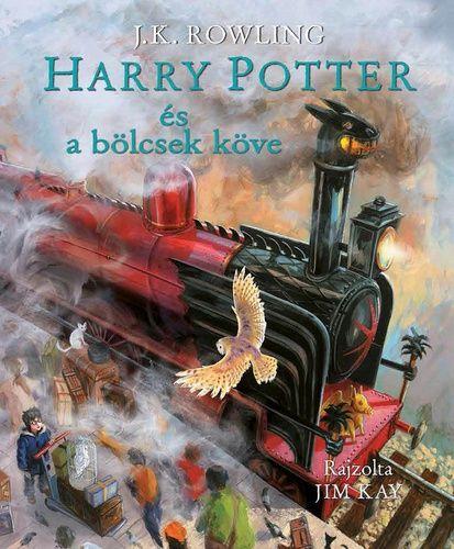 J. K. Rowling - Harry Potter és a bölcsek köve - Illusztrált kiadás