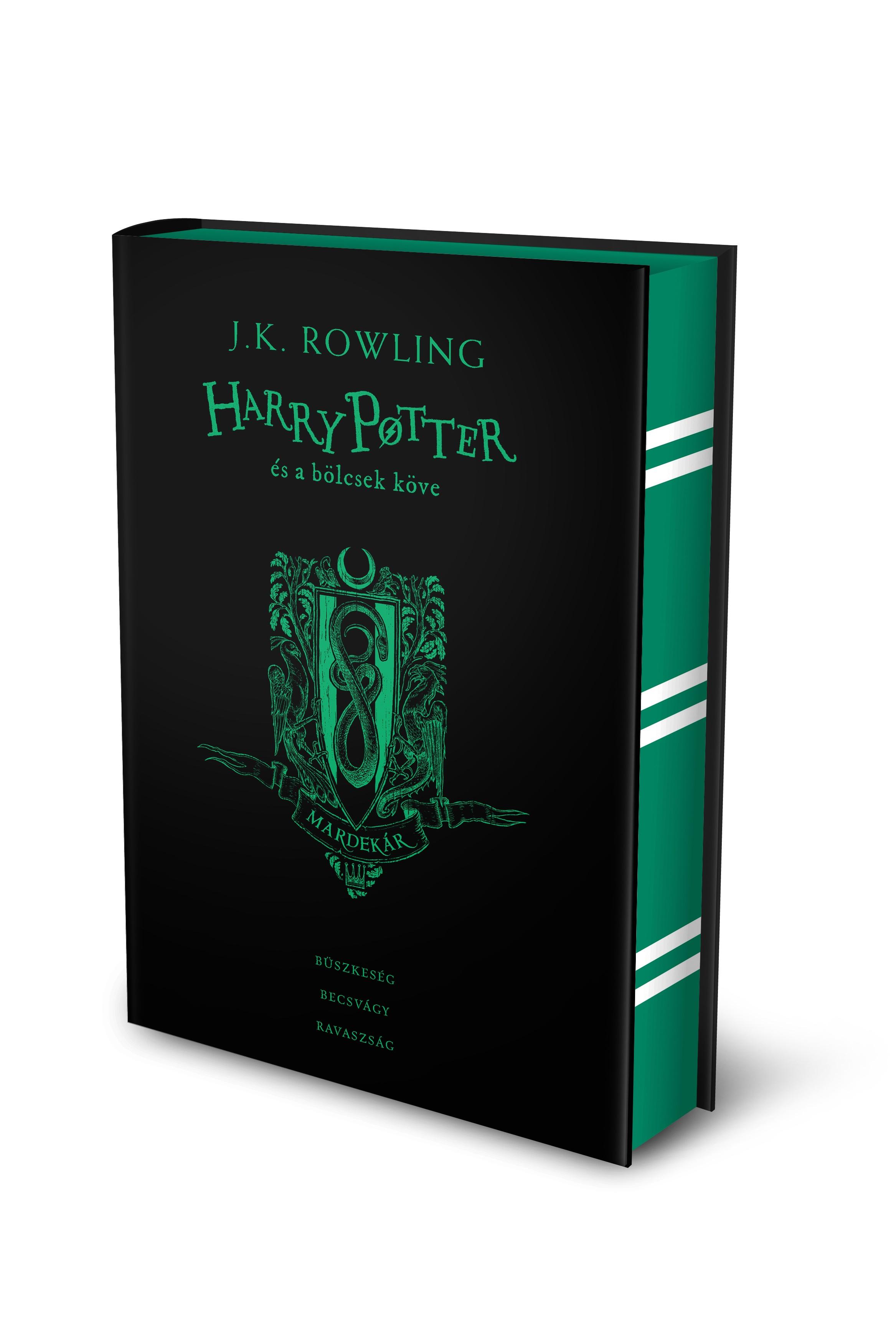 J. K. Rowling - Harry Potter és a bölcsek köve - Mardekáros kiadás