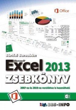 Bártfai Barnabás - Microsoft Excel 2013 zsebkönyv