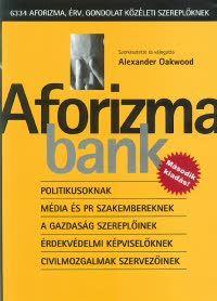 Alexander Oakwood - Aforizmabank