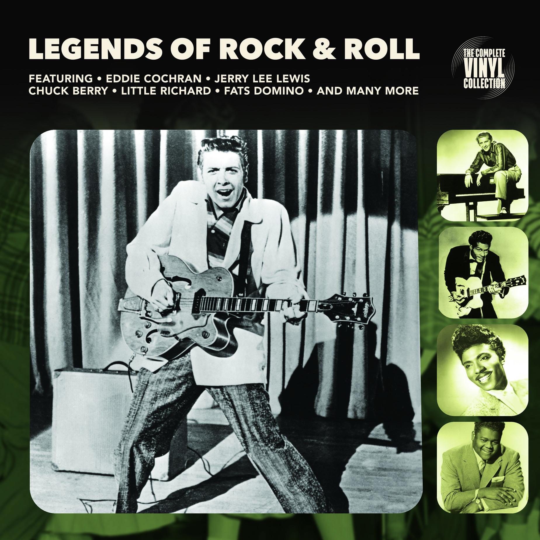 Legends Of Rock & Roll (LP)