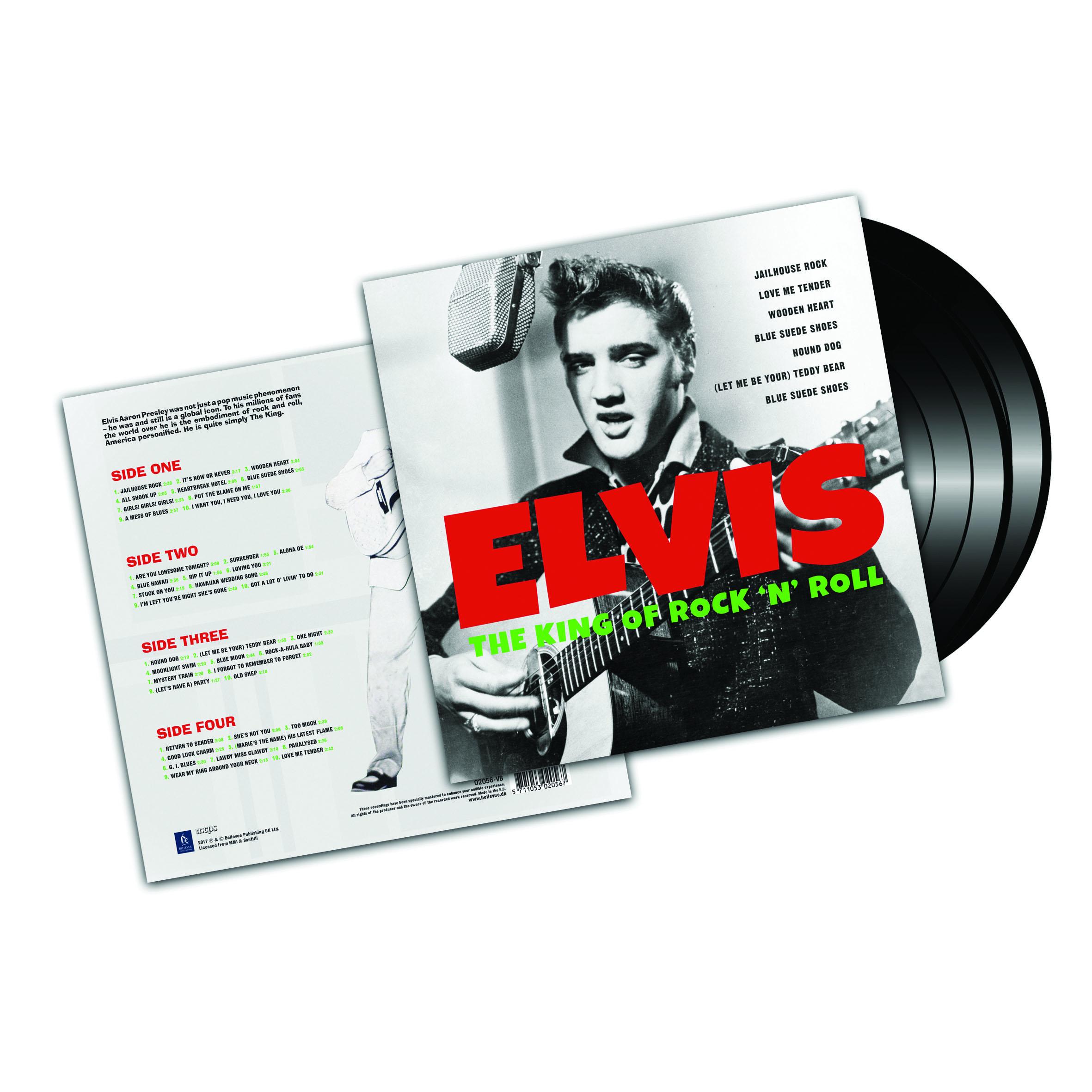 Elvis – The King Of Rock 'N' Roll (2LP)