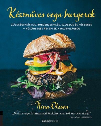 Nina Olsson - Kézműves vega burgerek