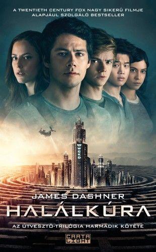 James Dashner - Halálkúra - filmes borító