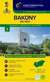 Bakony - déli rész, Somló turistatérkép 1:40.000