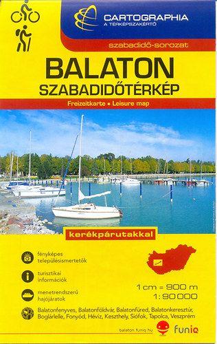 Balaton szabadidőtérkép 1:90 000