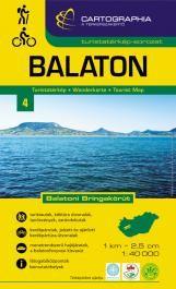 Balaton turistatérkép 1:40 000