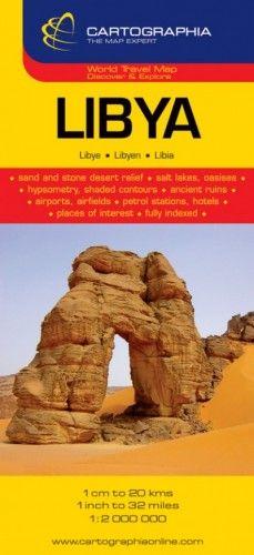 Líbia útitérkép