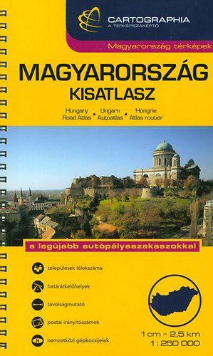 Cartographia Kiadó - Magyarország kisatlasz 1:250.000