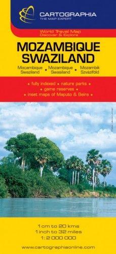 Mozambik útitérkép