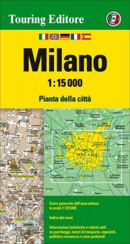 Milánó várostérkép - 1:15000