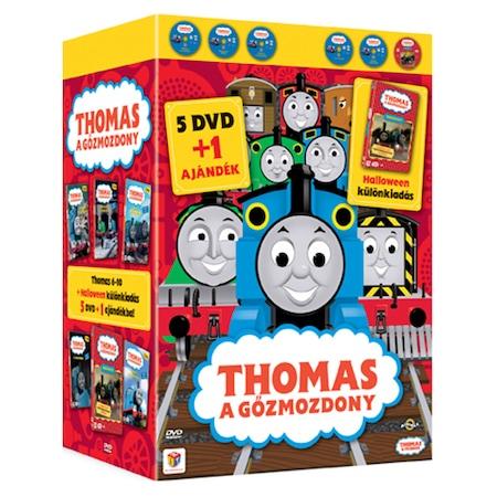 Thomas 6-10 + Halloween díszdoboz - DVD