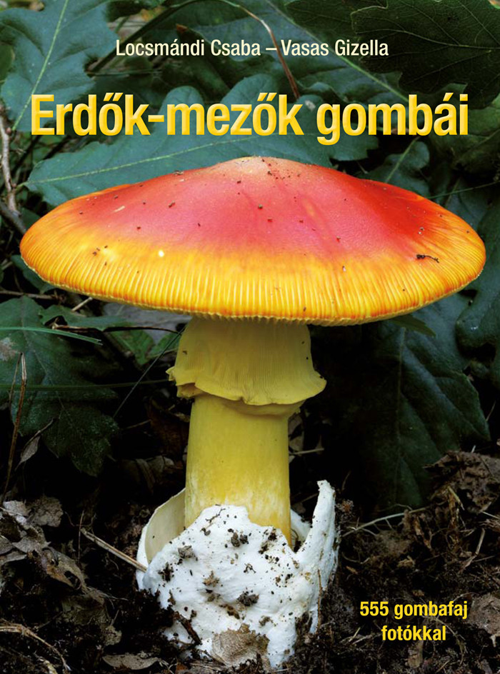 Vasas Gizella - Erdők-mezők gombái - Javított utánnyomás
