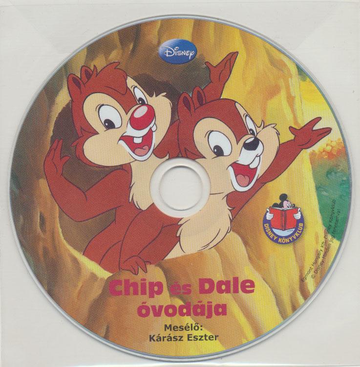 Disney - Chip és Dale óvodája - Hangoskönyv