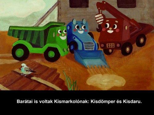 Döbrentey Ildikó - Kismarkoló - diafilm