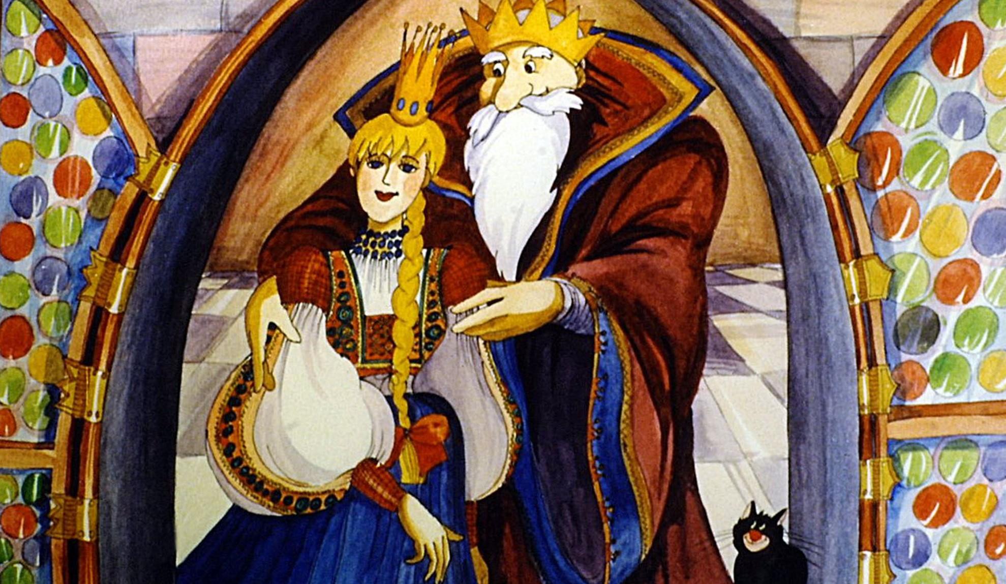 Benedek Elek - Szélike és János királyfi - diafilm