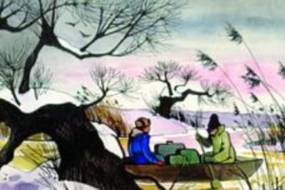 Fekete István - Téli berek - diafilm