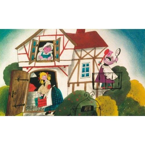 Wilhelm Carl Grimm  - Jacob Grimm - Holle anyó - Diafilm