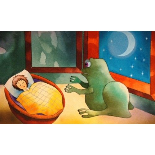 Hans Christian Andersen - Pöttöm Panna - diafilm