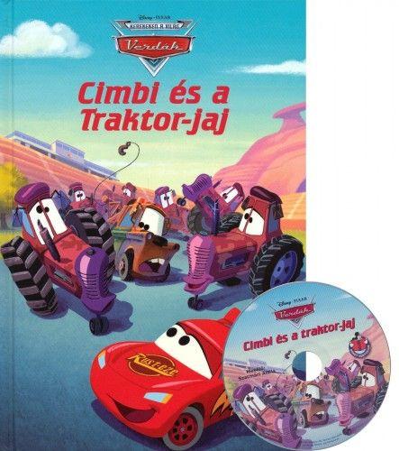 Verdák - Cimbi és a Traktor-jaj + mese CD