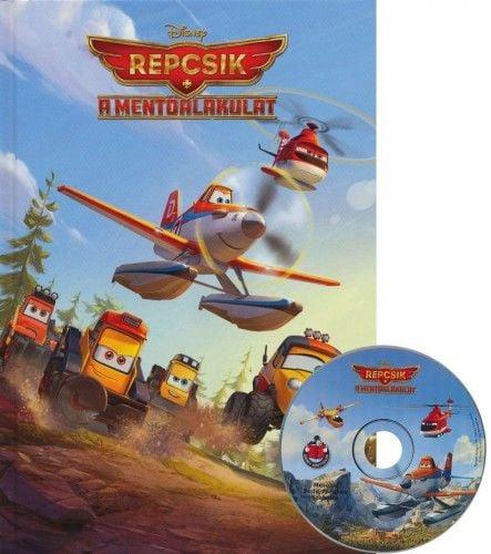 Repcsik - A mentőalakulat + mese CD