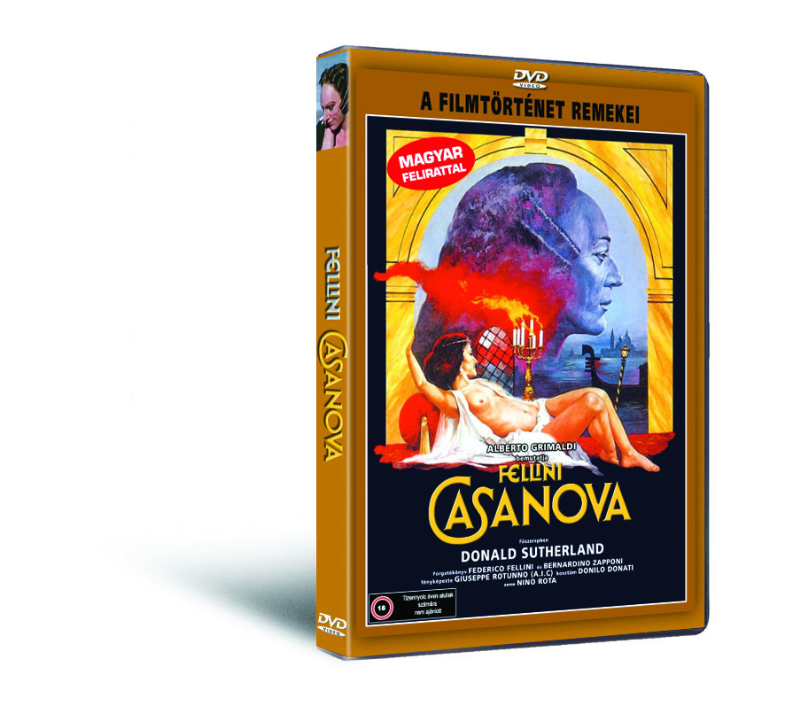 Casanova (Fellini) - DVD