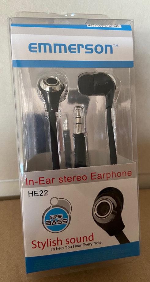 Emmerson sztereó fülhallgató, HE 22