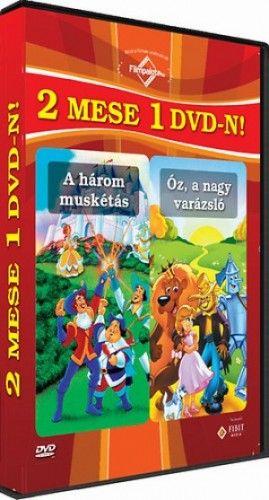 A három muskétás - Óz, a nagy varázsló - DVD