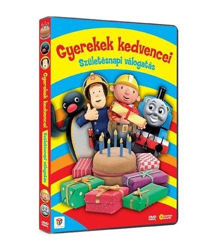 Gyerekek kedvencei - Szülinapi válogatás - DVD