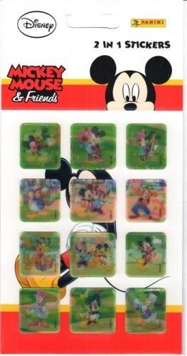 Matrica - Mickey Mouse & friends / 2 in 1