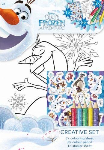 Olaf - Színező készlet
