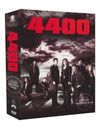 VincentMisiano,ColinBucksey,MorganBeggs,ScottPeters,AaronLipstadt,NickCopus,AllisonLiddi,FredToye - 4400 - a teljes 4. évad DVD