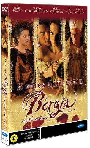Antonio Hernández - A véres dinasztia - A Borgia család története-DVD