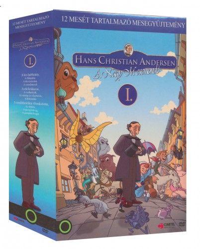 Jorgen Lerdam - Andersen 1. díszdoboz  (3 DVD - A kis hableány, A rút kiskacsa, A rendíthetetlen ólomkatona)
